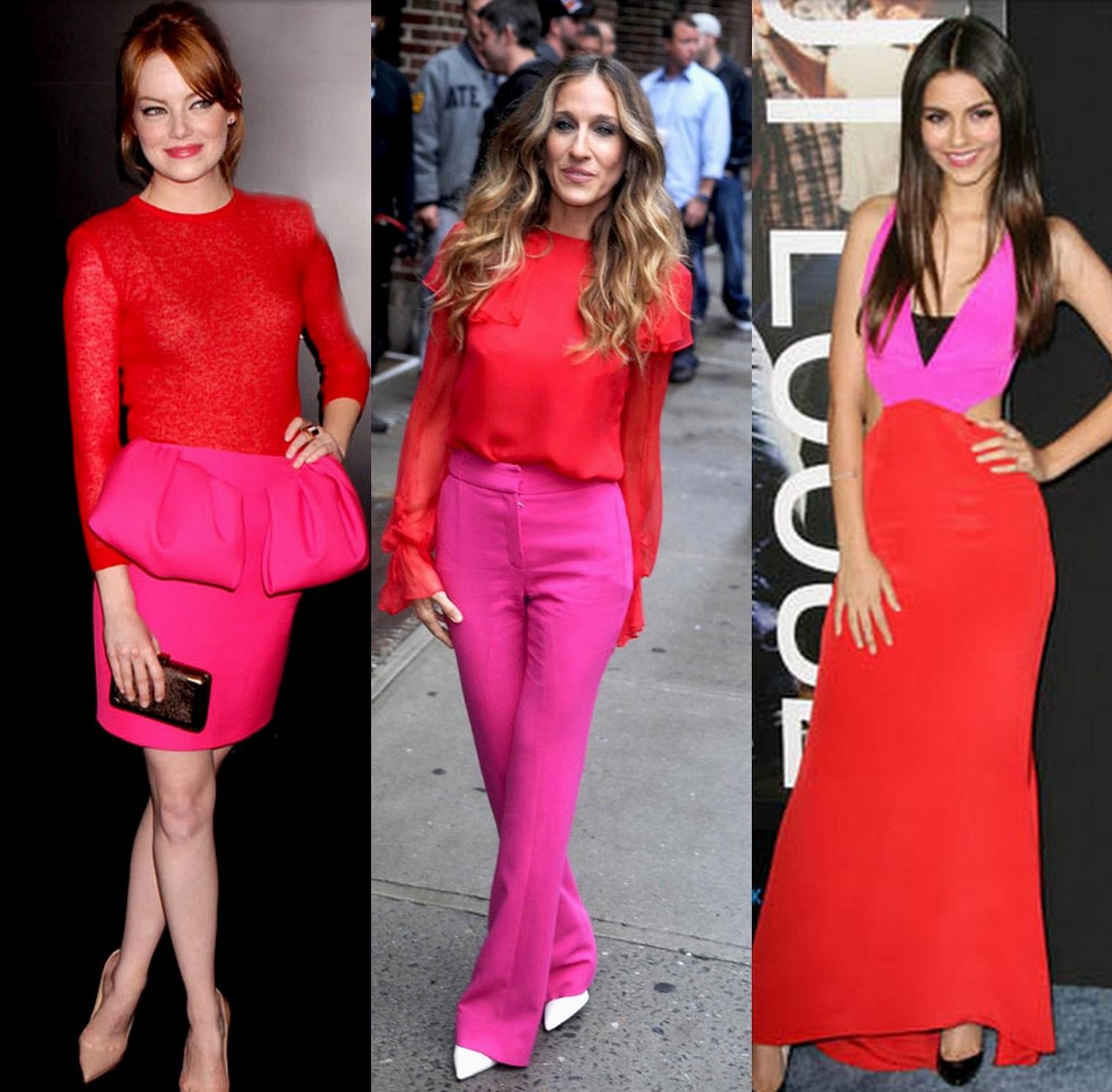 Rosa rojo la combinaci n ganadora de la primavera dream for Combinacion de color rosa